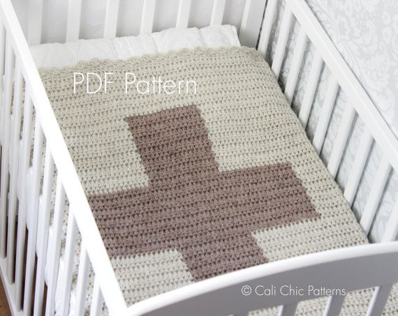 Knitting Pattern Jargon : Crochet PATTERN 79 Cali Cross Baby Blanket by CaliChicPatterns, USD4.50 Croch...