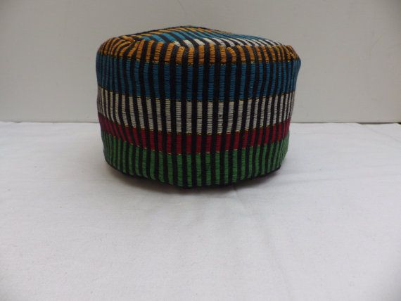 African Hat Fila Kufi Multi coloured Hat by madeincrawley on Etsy