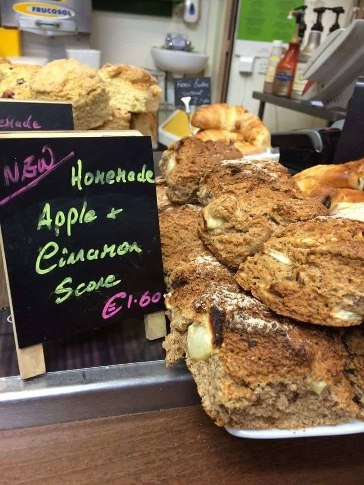 This recipe was sent straight to us from The North Pole :) Get these seasonal and festive Apple & Cinnamon scones when they're freshly baked in-store every morning :)