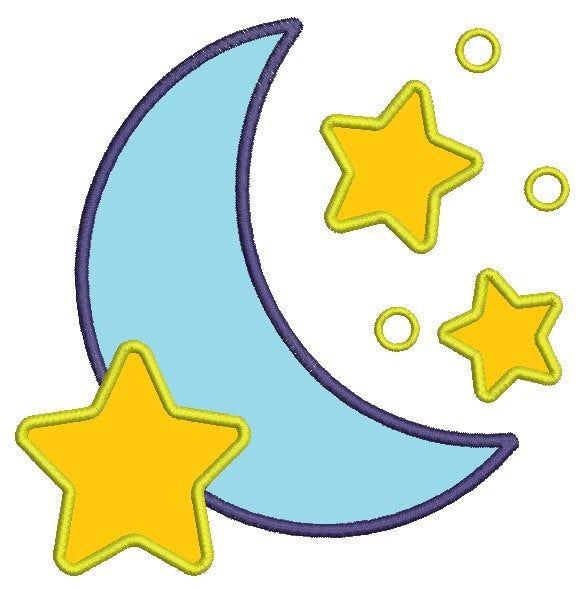 Луна аппликация картинки