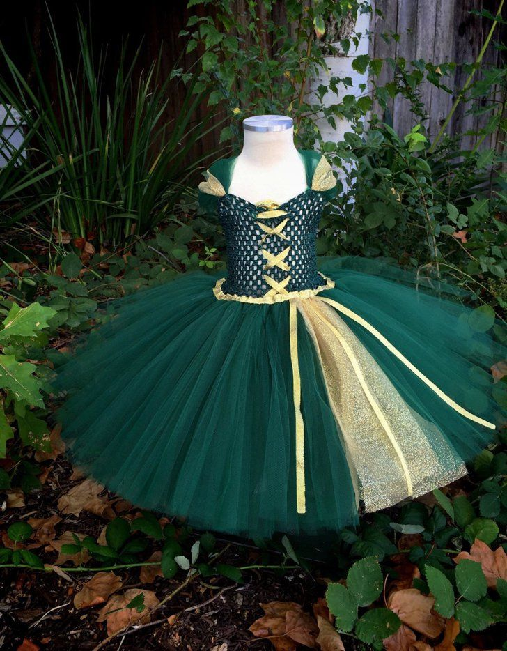 These Are the 65 Ultimate Disney Character Tutu Dresses For Halloween Merida Inspired Tutu Dress Merida Inspired Tutu Dress ($40+)