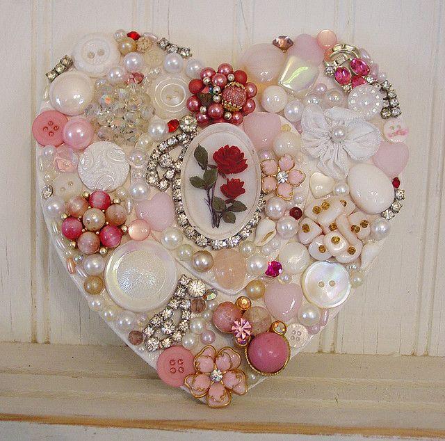 A Shabby Valentine!   I love this!