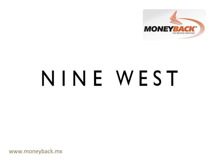 Nine West se fundó inicialmente como una marca de calzado para mujer, que luego abarcó la fabricación de bolsos, gafas de sol, calcetería, ropa de abrigo, joyas, cinturones, relojes, accesorios de clima frío, sombreros, bufandas y gafas. Su nombre lo tomó de la locación de su edificio sede en la Ciudad de Nueva York. Hoy cuenta con alrededor de 800 sucursales en todo el mundo. Nine West México es negocio afiliado a Moneyback. #taxfreeshopping #moneyback #devolucióndeimpuestos #viajeamexico
