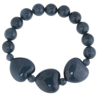Lola Rose Francine Triple Heart Stretch Bracelet