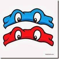 Image result for mascara de las tortugas ninja