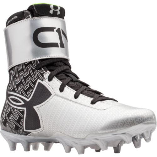 fa549201e34 Under Armour Boys s C1N MC Football Cleats - Black Silver