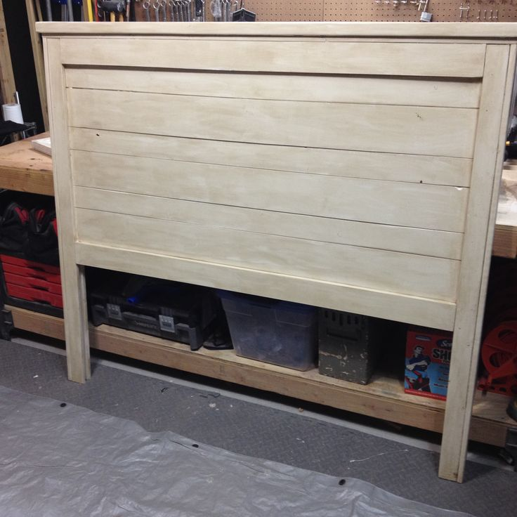 Reclaimed wood look headboard do it yourself home for Do it yourself home projects