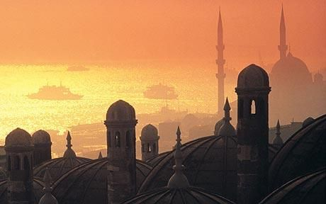 Istanbul skyline - Salome Productions proudly brings you bellydanceforums.net, iBellyDance.net and OrientalDancer.net. Visit us today / Like us on www.facebook.com/SalomeProductions