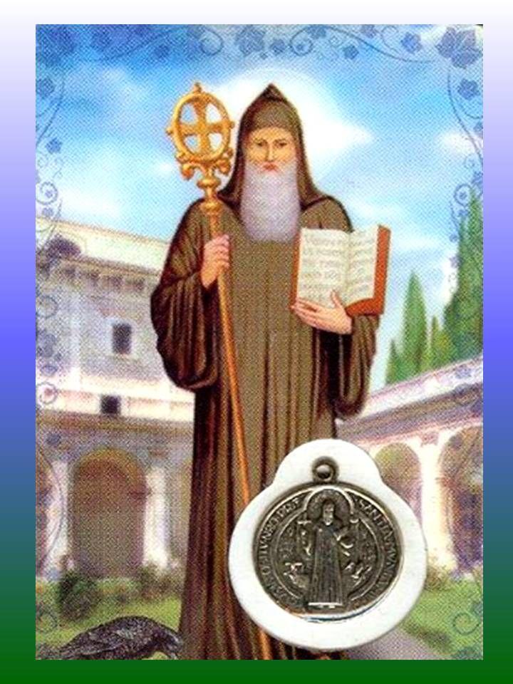 NOVENA BREVE A SAN BENITO PARA PEDIR UNA GRACIA Rezar durante nueve días consecutivos la siguiente oración: OH San Benito, mi protector bond...
