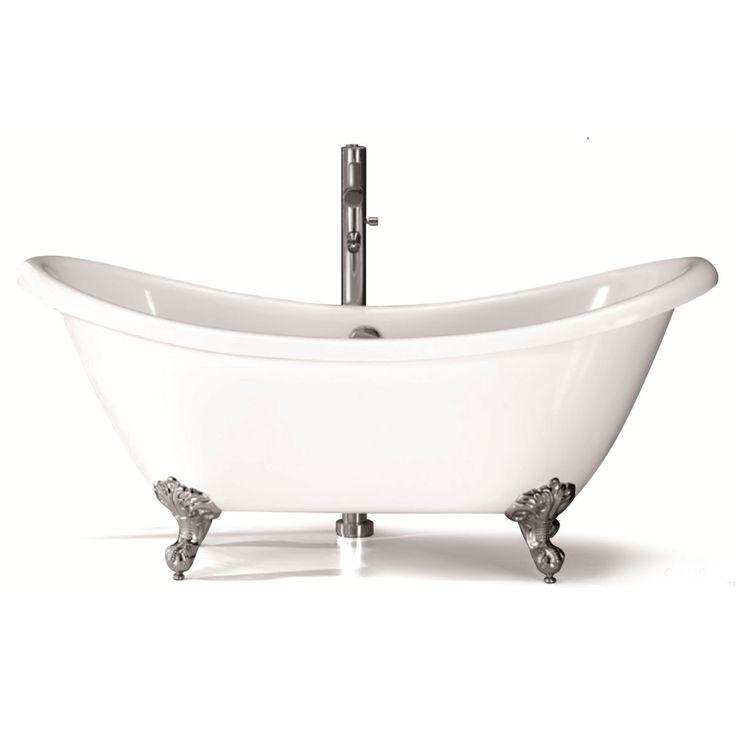 Les 25 meilleures id es concernant baignoire sur pattes for Salle de bain avec baignoire sur pied