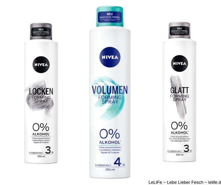 NIVEA Forming Spray Volumen verleiht dem Haar luftiges Volumen und flexiblen 24-…