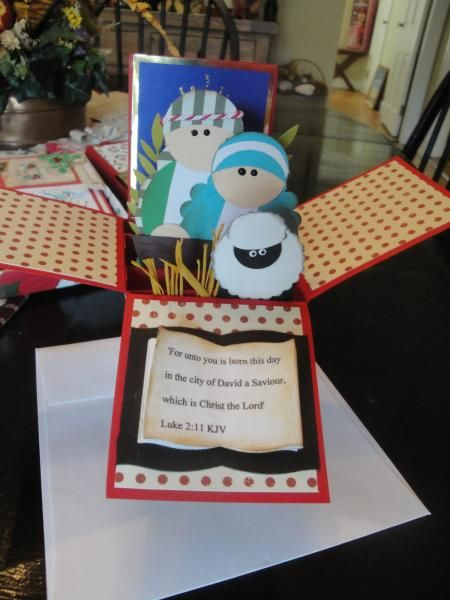Christmas Nativity by CBmott - Cards and Paper Crafts at Splitcoaststampers