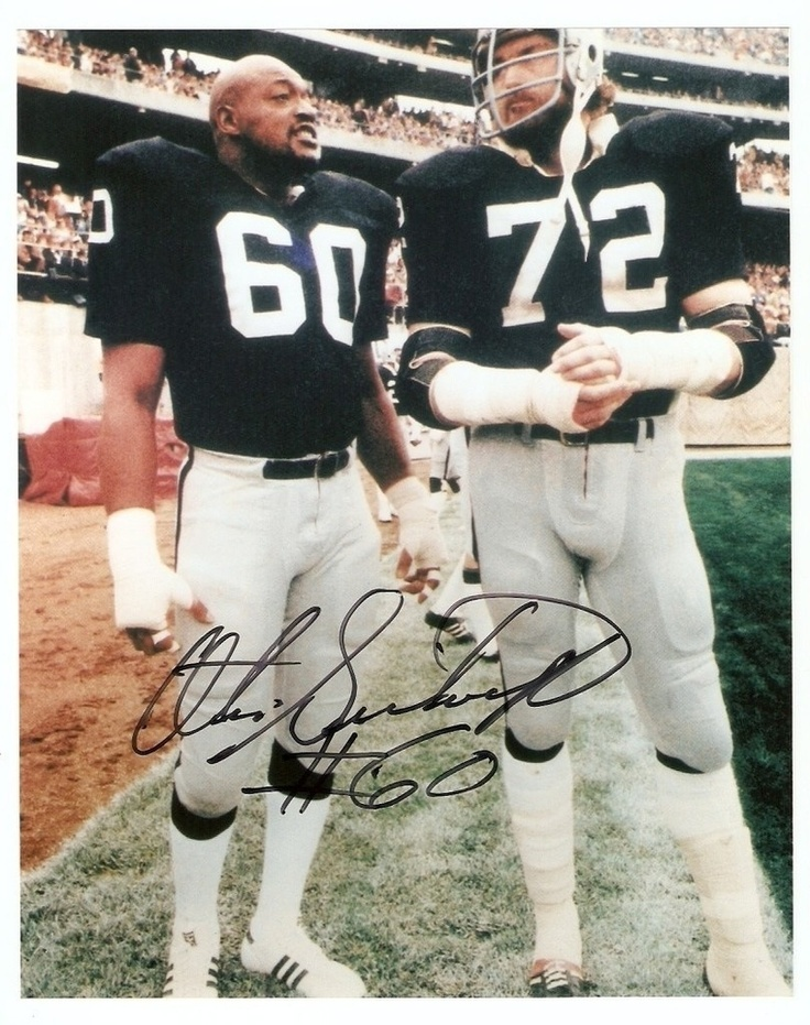 Otis Sistrunk and John Matuzak old school bad asses. Oakland Raiders