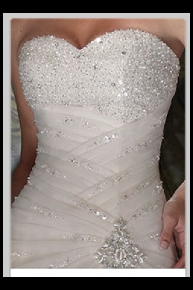 Weeding dress..love the bling