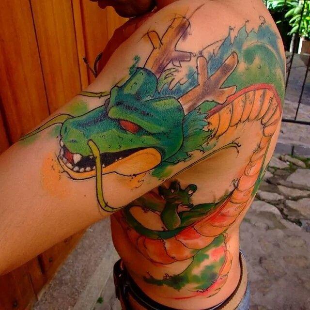 101 Best Dbz Tattoos Images On Pinterest