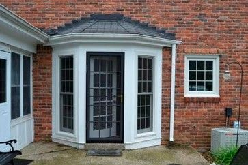 Bay and Bow Windows screen-doors