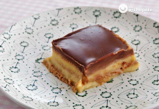 Tarta de galletas. Tarta de la abuela - Recetas de rechupete - Recetas de cocina caseras y fáciles