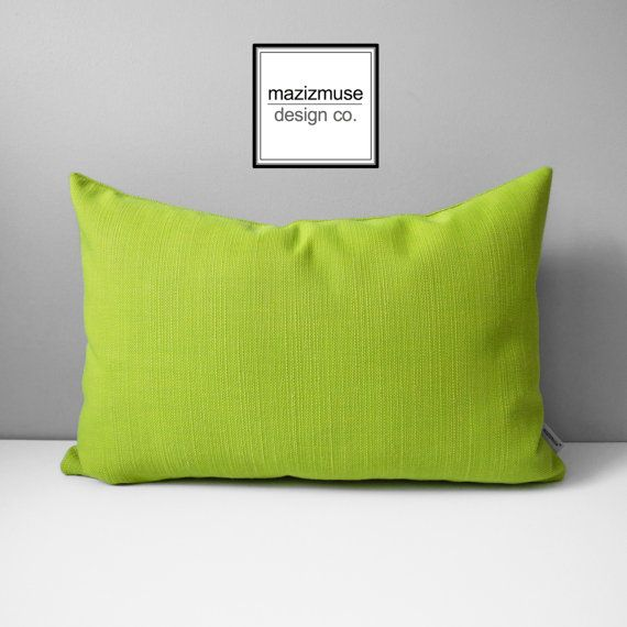limelite outdoor pillow cover acid green pillow cover by mazizmuse