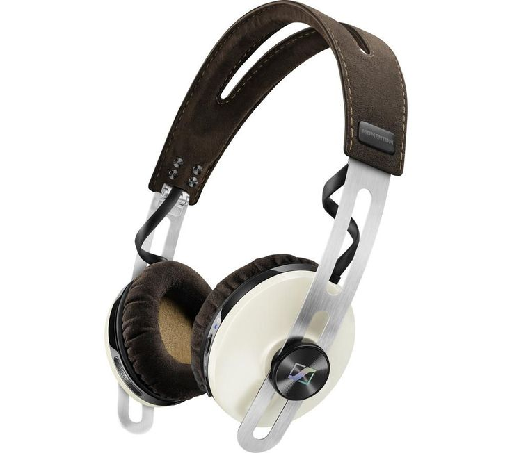SENNHEISER  Momentum 2.0 O/E Wireless Bluetooth Noise-Cancelling Headphones - Ivory, Ivory Price: £ 289.99 With the on-ear Sennheiser Momentum 2.0 O/E Wireless Bluetooth Noise-Cancelling Headphones you can enjoy wireless convenience and clean sound with active noise-cancelling technology, all in a top-quality ivory and brown leather design. Bluetooth frees you up Thanks to Bluetooth 4.0,...