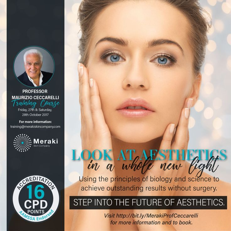 Look at aesthetics in a whole new light Using the principles of biology and science to achieve outstanding results without surgery.Step into the future of aesthetics. Visit http://us16.campaign-archive2.com?e=&u=4a15295b3d839d11868cb4f48&id=15cea035d0 for more information and to book.