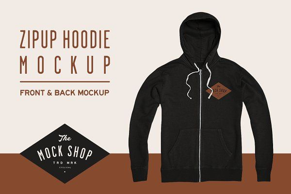 Download Zipup Hoodie Mockup With Images Hoodie Mockup Shirt Mockup Mockup Design