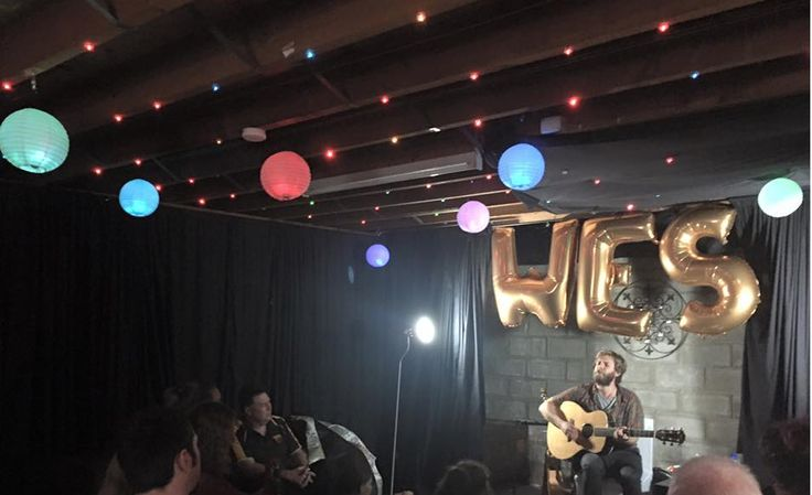 A night we will never forget. The incredibly talented Wes Carr came to our warehouse to give us a special acoustic intimate concert. Just amazing.