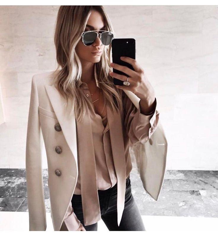 "95 Likes, 4 Comments - Sparklyprincessa (@sparklyprincessa) on Instagram: ""Love this look! ❤️ #sunglasses #dior #balmain #jacket #fabulous #classy : @lorihoxha #blogger…"""