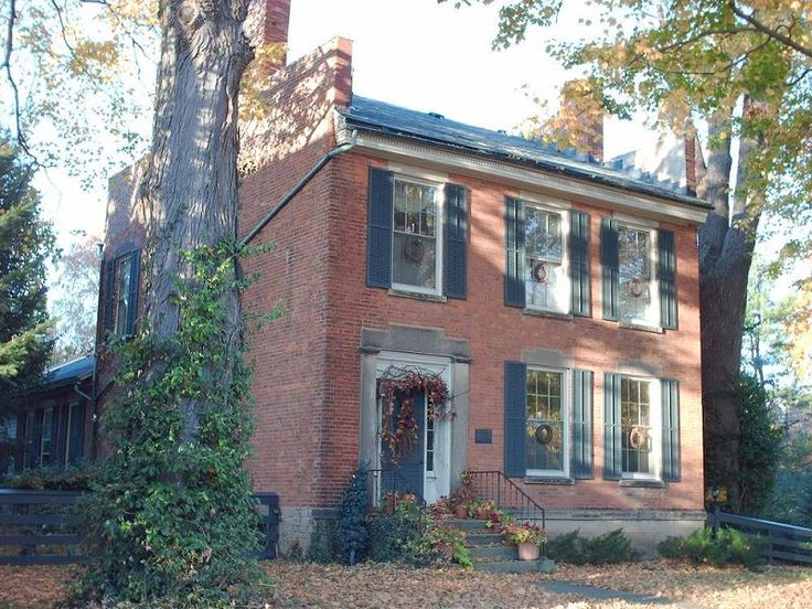 1830 federal the house of seven hearths in birmingham ohio houses i love for What architectural style is my home