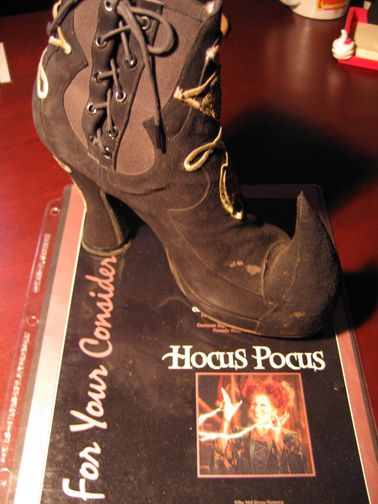 Winifred Sanderson's shoes from Hocus Pocus