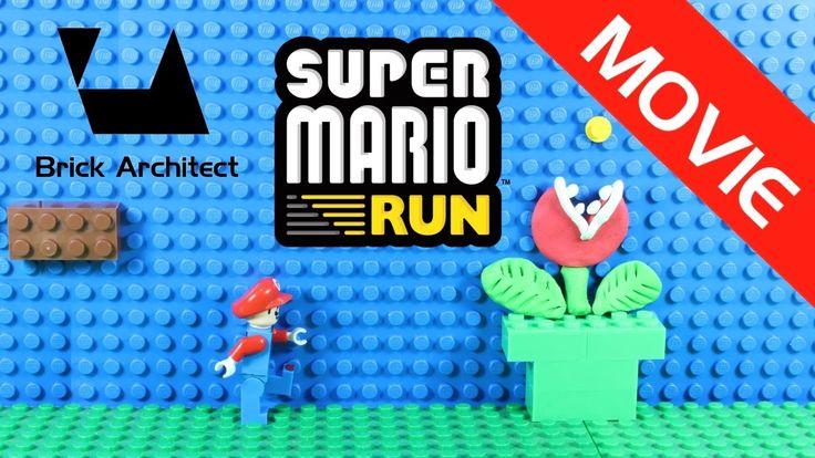 Lego Super Mario Run – Lego Mario Run Funny Parody – Leg…