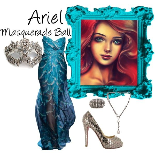"""Ariel (Masquerade Ball)"" by idmiliris on Polyvore"
