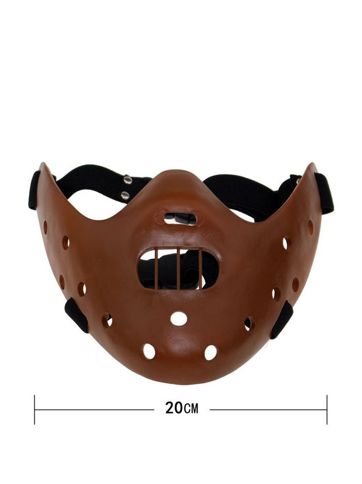 Silence of the Lambs Hannibal Lecter Mask Resin Mask