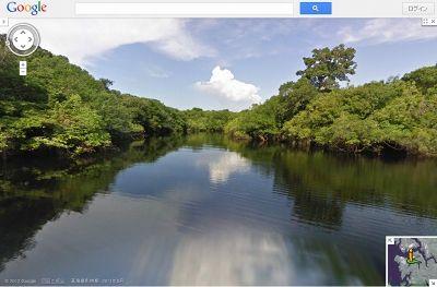 """Google、アマゾン川支流の""""水上ストリートビュー""""公開、流域の密林内部も -INTERNET Watch"""