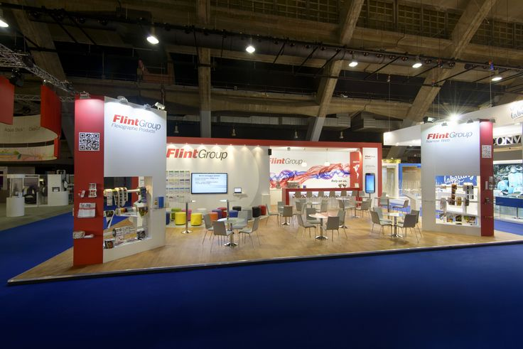 Exhibition Booth Design D : Flint group label expo exhibition booth