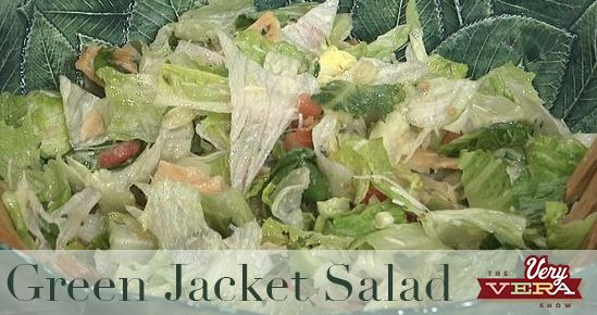 The signs are up. The azaleas and dogwoods are in full bloom. That's right, the tournament is a mere week away. In honor of the 2016 Masters, I'm sharing one of my favorite recipes—an Augusta staple—the Green Jacket Salad. Green Jacket Salad ½ cup vegetable oil 1/3 cup red wine vinegar 1 Roma tomato, diced…