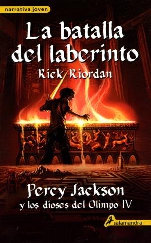 Batalla del laberinto, La. Percy Jackson y los dioses del Olimpo: