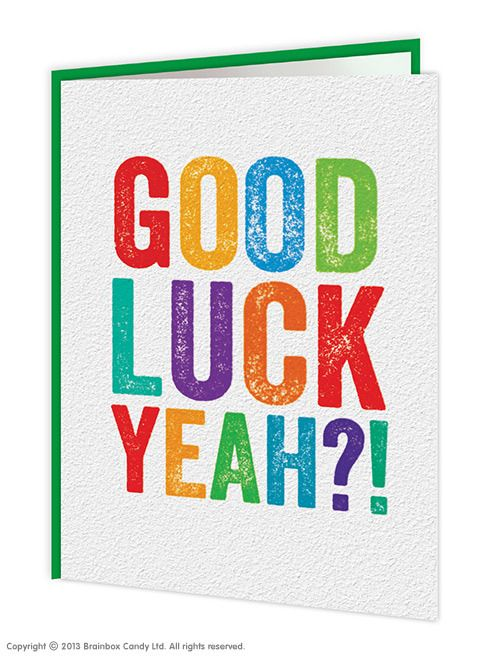 30 best Good Luck and Congrats! images on Pinterest Candy - good luck card template