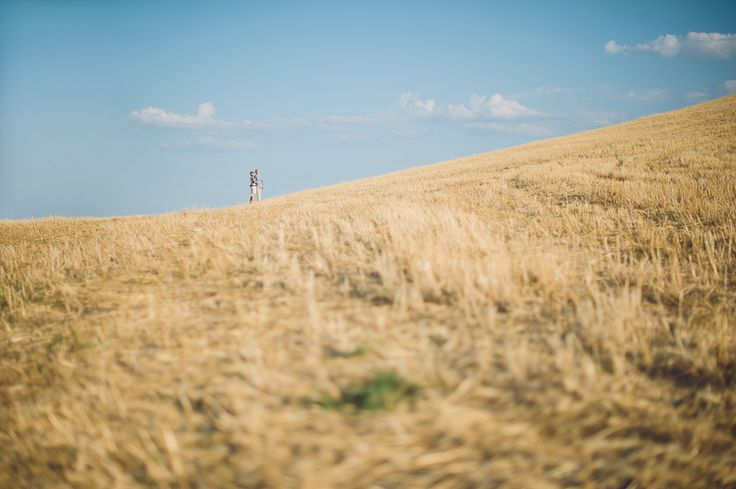 AnDphotography D+L engagement #andphotography #weddingphotographer #wedding #love #engagementsession #countrysideengagement #wheatfield #bluesky