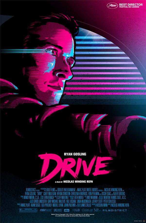 Unofficial Drive Poster by James White