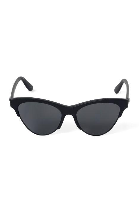 Weekday Kin Ink Sunglasses in Black