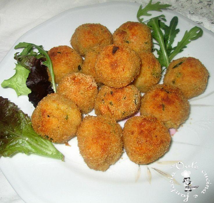 Polpettine di tonno e verdure al forno