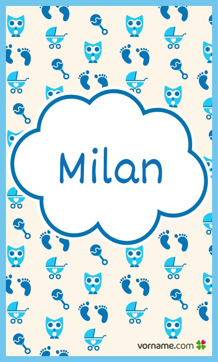 Wäre Milan nicht ein schöner Name für Dein Baby? Finde heraus, wo der süße Jungenname herkommt, was er bedeutet, wann sein Namenstag ist und vieles mehr. Alle Infos zum Namen Milan auf Vorname.com entdecken!