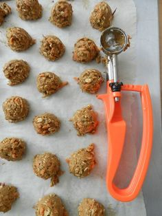 Healthy homemade horse cookies. My picky-eater goats like them, too.