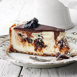 Sernik śliwka z czekoladą | Kwestia Smaku