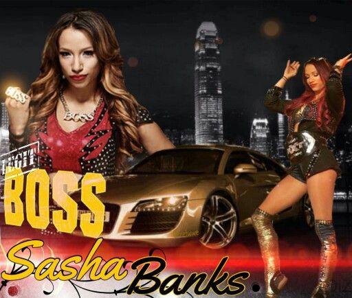 Mercedes Kaestner-Varnado as NXT Women Champion Sasha Bank