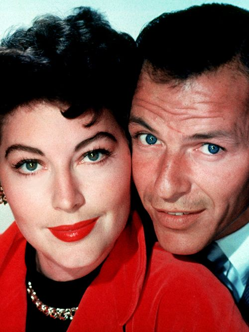 """no matter what happened,we would always be in love""  -ava gardner   ava and frank sinatra"