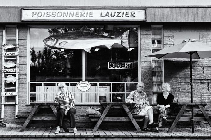 Regard sur les gens de Kamouraska — Look on the People of Kamouraska by Simon Lajoie