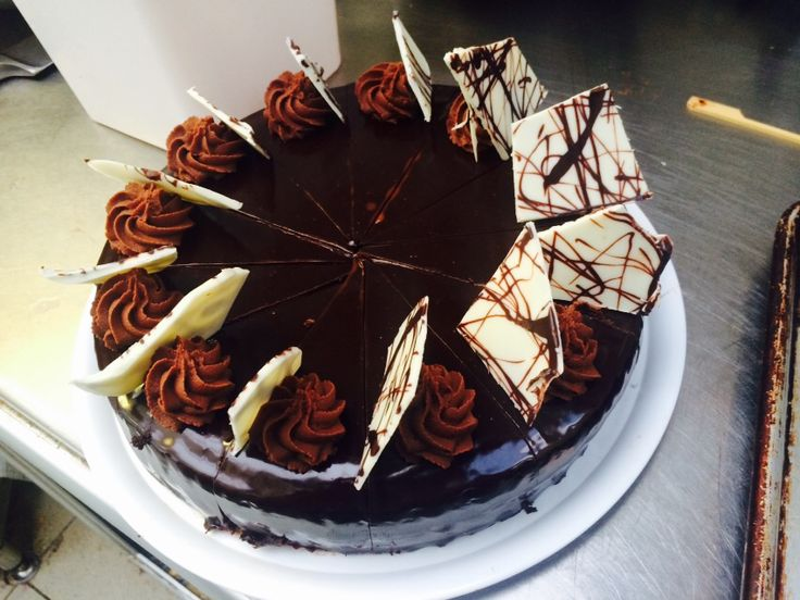 Gluten free chocolate gateaux