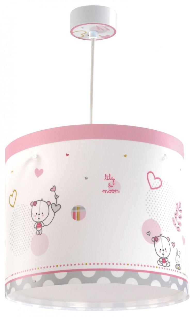Lily & Moon  Παιδικό Φωτιστικό Οροφής με Διαχυτή Φωτός