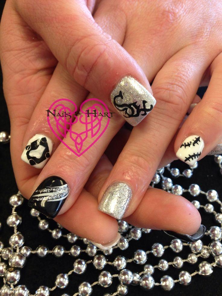 12 best white sox nail design images on Pinterest | Baseball nails ...